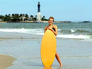 Pompano Beach Condo Rentals - Lighthouse Cove Resort Beach and Lighthouse